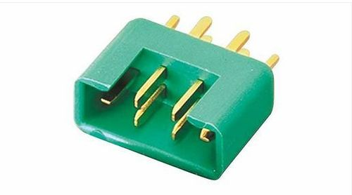 Multiplex MPX-Stecker M6 (grün) 3St. male
